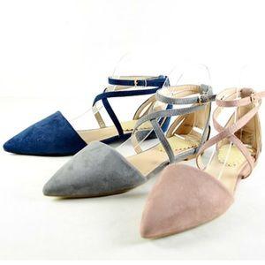 Shoes - New Arrival- Mauve Vegan Suede Flats